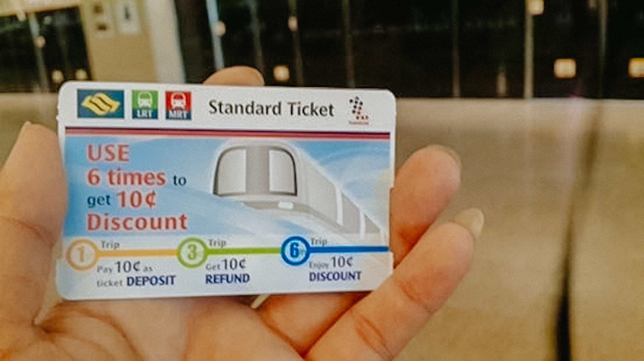 MRT Singapore Ticket